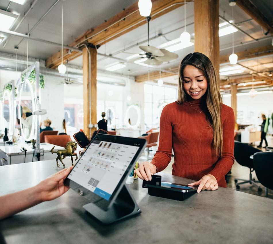 Houston POS Customer Using Retail POS